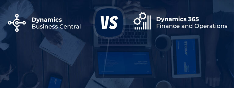 Dynamics 365 Business Central vs Finance and Operations