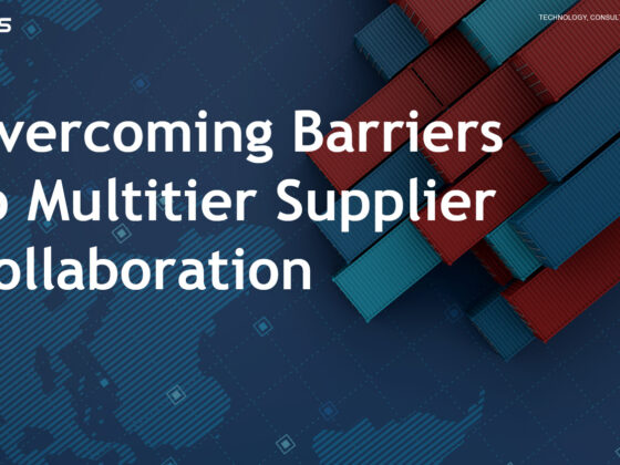 Overcoming barriers to multitier supplier collaboration